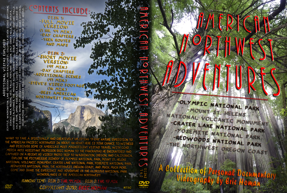 American Northwest Adventures DVD cover