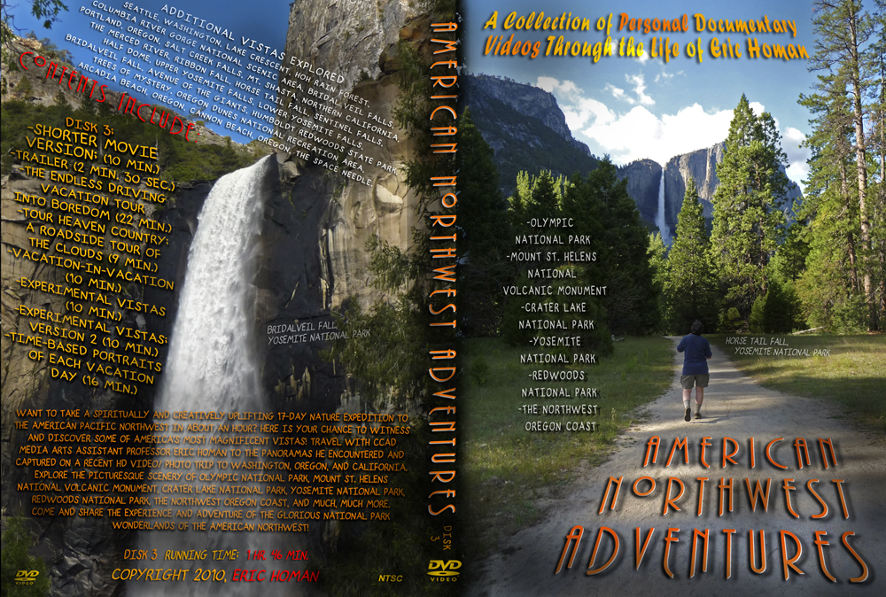 American Northwest Adventures DVD cover2
