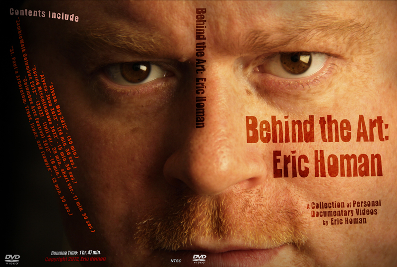 Behind the Art_Eric Homan_DVD cover