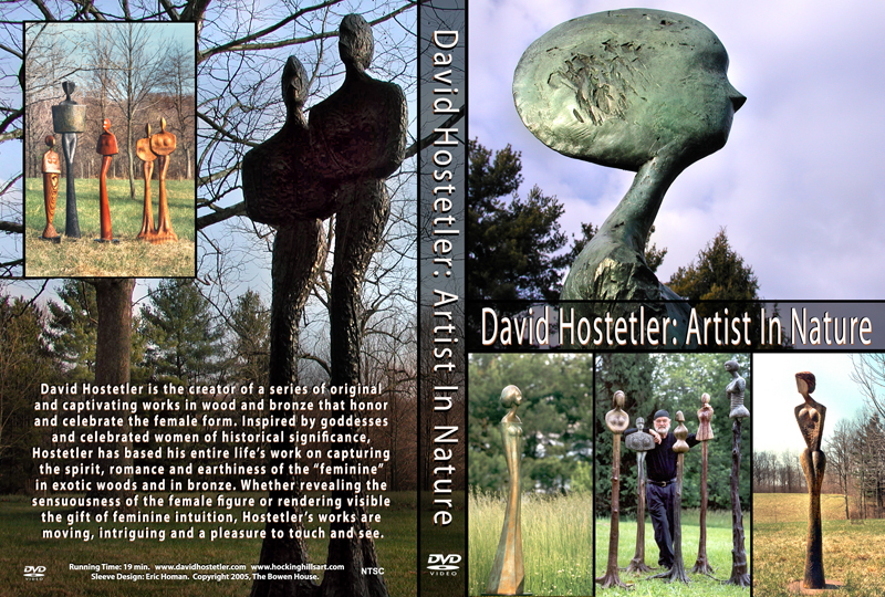David Hostetler DVD cover flap web