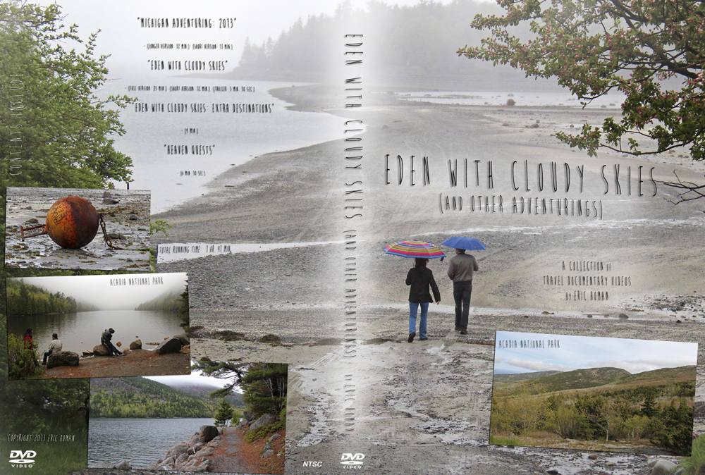 Eden With Cloudy Skies (and Other Adventurings) DVD cover