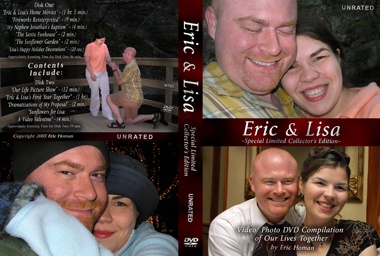 Eric & Lisa DVD cover web