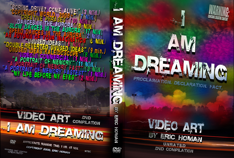 I AM DREAMING_DVD cover