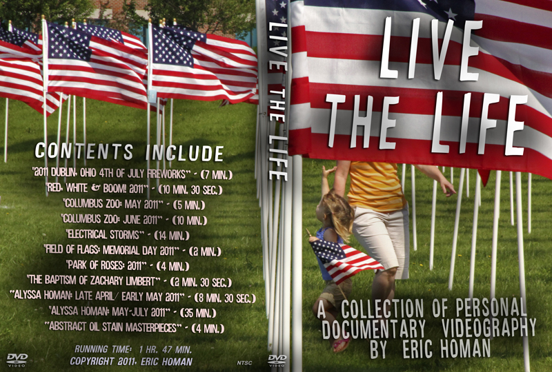 Live the Life DVD cover
