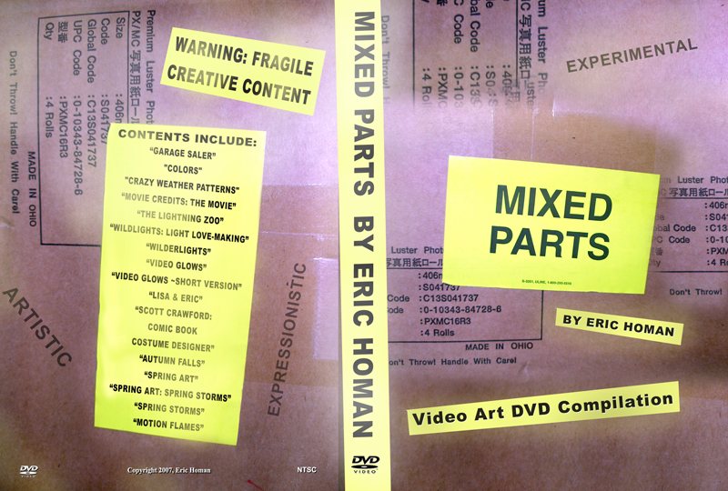 Mixed Parts DVD cover web