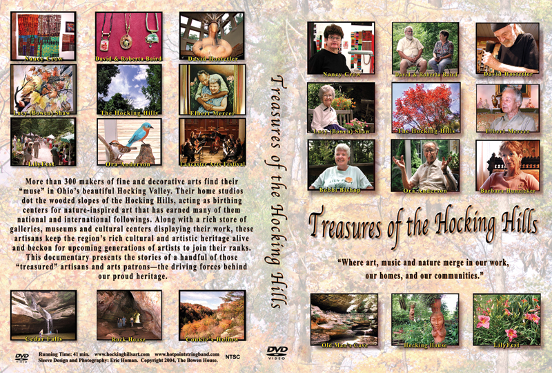 Treasures of Hocking Hills DVD cover flap web