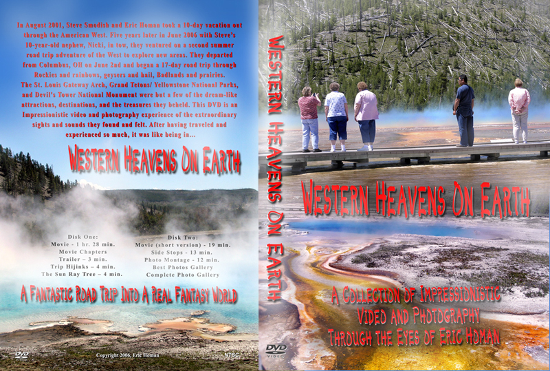 Western Heavens On Earth DVD cover web